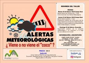 ALERTAS METEO FEBRERO 2019